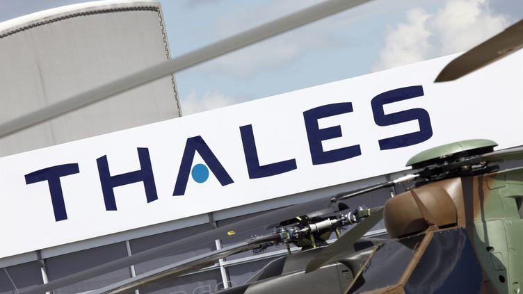 Thales a signé un contrat de 140 millions d'euros pour la fourniture de matériels de communication à l'Angola. (CHRISTOPHE LEHENAFF / AFP)