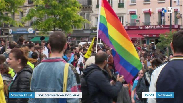 Saint-Denis : première marche des fiertés en banlieue
