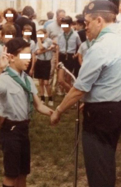 """Groupe de scouts Saint-LucàSainte-Foy-lès-Lyon, dans les années 1980-1990. (ASSOCIATION """"LA PAROLE LIBEREE"""")"""