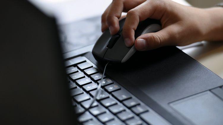 La consultation des sites pornographiques est en hausse chez les adolescents de 15 à 17 ans, selon une étude de l'Ifop publiée le 20 mars 2017. (NCY / MAXPPP)