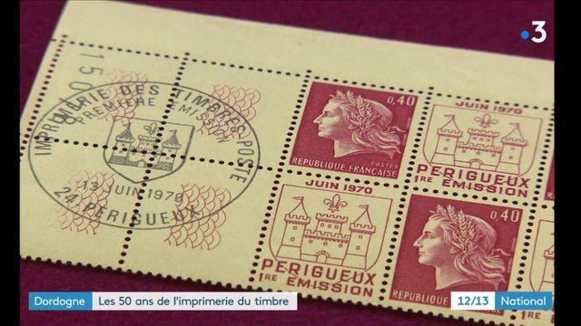 Dordogne : l'imprimerie du timbre fête ses 50 ans