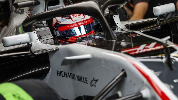 Romain Grosjean au volant de sa Haas (HOCH ZWEI / HOCH ZWEI)