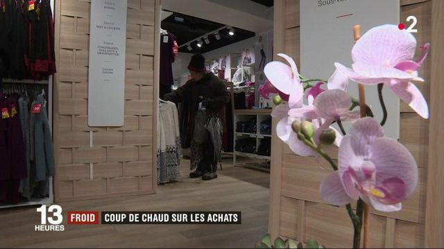 Vague de froid : les Français se ruent sur les vêtements chauds et les légumes de saison