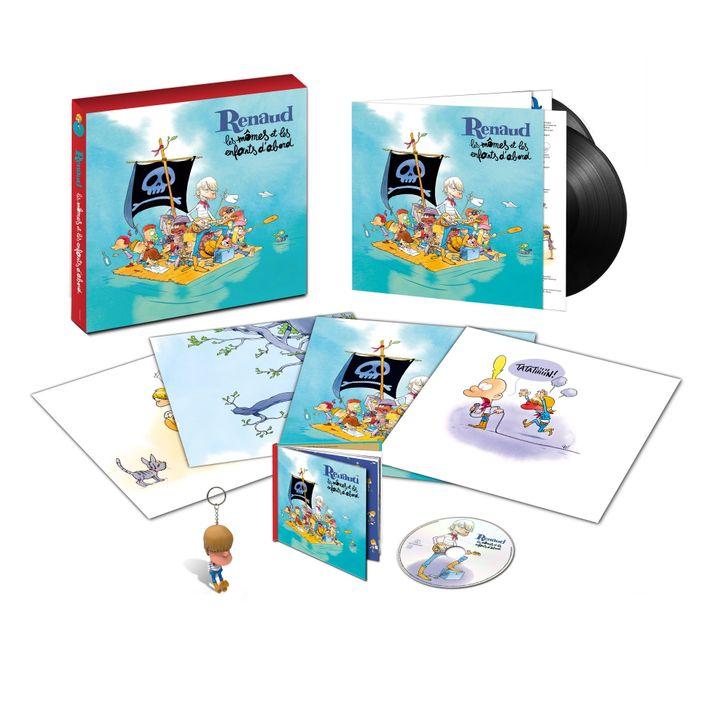 Le coffret Collector Edition Limitée (Warner / Parlophone)