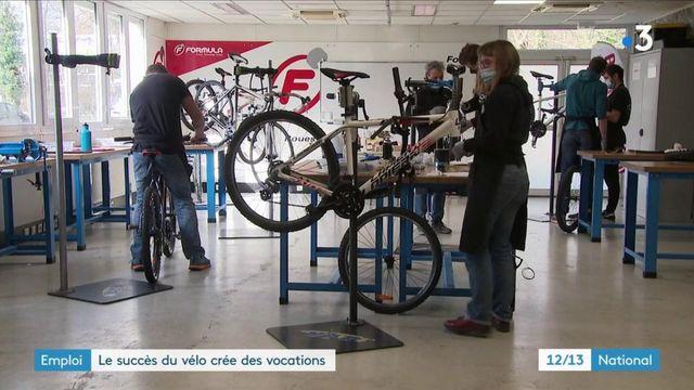 Emploi : le succès du vélo entraîne une forte demande de vendeurs et techniciens
