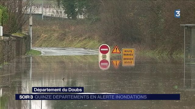 Eleanor : 15 départements toujours en alerte inondation