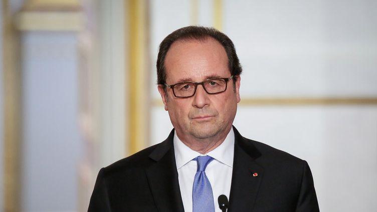(A l'issue du quatrième Conseil de défense, François Hollande a annoncé des mesures anti-Daech © MaxPPP)