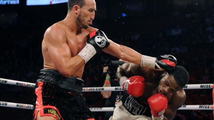 Le boxeur français Nadjib Mohammedi (RICHARD WOLOWICZ / GETTY IMAGES NORTH AMERICA)