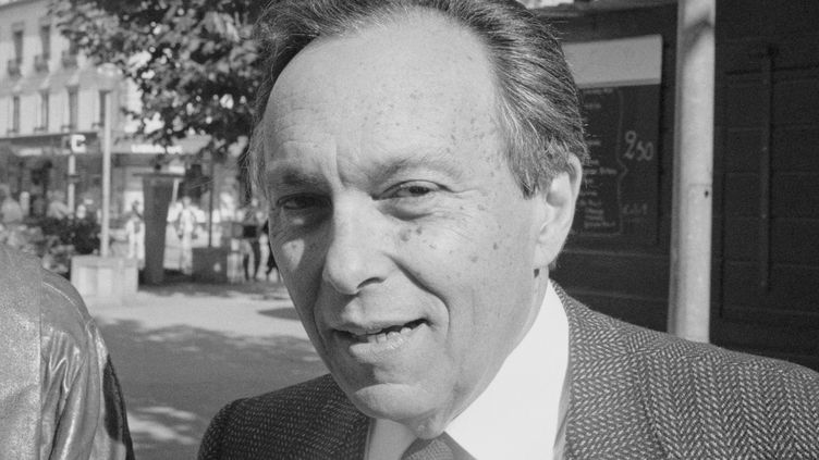 "Jean Starobinski, dit ""Staro"", grand érudit suisse, ici en 1989.  (Sophie Bassouls/Sygma/Sygma via Getty Images)"