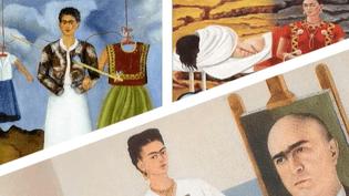 Frida Kahlo a peint sa vie dans des autoportraits  (capture d'écran France 2 / Culturebox)