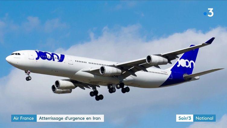 Un avion de la compagnie Joon (France 3)