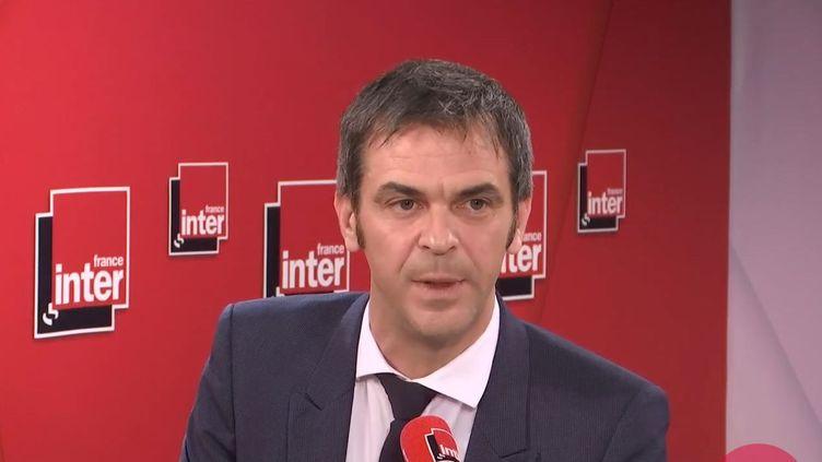 Olivier Véran, le ministre de la Santé, invité sur France Inter. (FRANCEINTER / RADIOFRANCE)