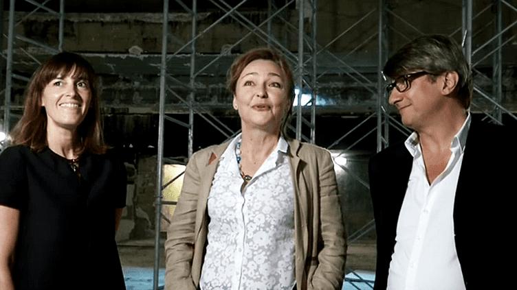 Tout comme Mélanie et Frédéric Biessy, les nouveaux propriétaires de la Scala de Paris, la comédienne Catherine Frot est tombée sous le charme de l'ancien café-concert  (France 3 / Culturebox)