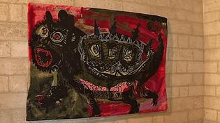 Tapisserie originale de Christian Lacroix au château de Tarascon  (France 3 / Culturebox)