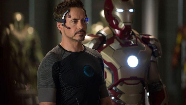 Une photo du film Iron Man 3, avec Robert Downey Jr. (MARVEL FILMS)