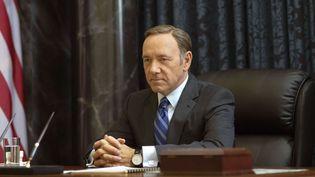 """Kevin Spacey en président des Etats-Unis dans """"House of Cards""""  (Nathaniel E. Bell / AP / SIPA)"""