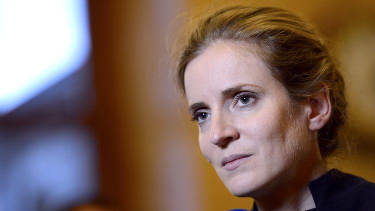 La députée UMP de l'Essonne Nathalie Kosciusko-Morizet, à l'Assemblée nationale (Paris), le 27 novembre 2012. (BERTRAND GUAY / AFP)