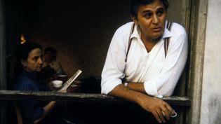 """Roger Hanin dans """"Le coup de sirocco"""", réalisé par Alexandre Arcady. (ETIENNE GEORGE / AFP)"""