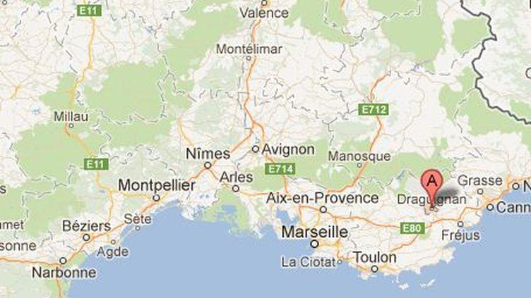 Une salle de prière a été profanée dans la nuit de mercredi 16 à jeudi 17 mai, à Draguignan (Var). (GOOGLE MAPS / FTVI)