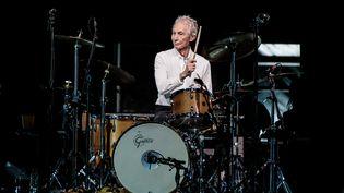 Le batteur des Rolling Stones, Charlie Watts, le 23 juillet 2017. (SERGIONE INFUSO - CORBIS / CORBIS ENTERTAINMENT)