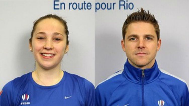 Les Français Brice Leverdez et Delphine Lansac n'ont pas eu un tirage au sort facile pour Rio.