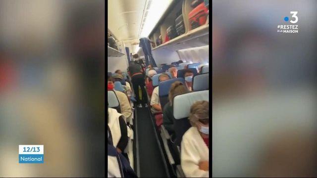 Air France : la colère des passagers après un vol sans précaution sanitaire