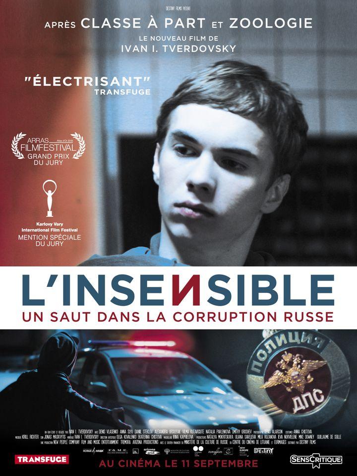 """Affiche de""""L'insensible"""", d'Ivan I. Tverdovsky (Destinity Films)"""