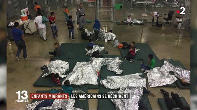 Enfants migrants : le ton monte aux États-Unis
