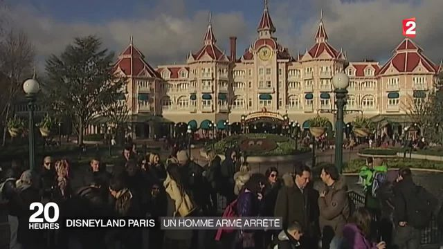 Disneyland Paris : un homme armé arrêté à l'intérieur du parc d'attractions