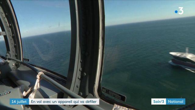 """14 juillet : vol à bord du """"couteau suisse"""" de l'armée française"""