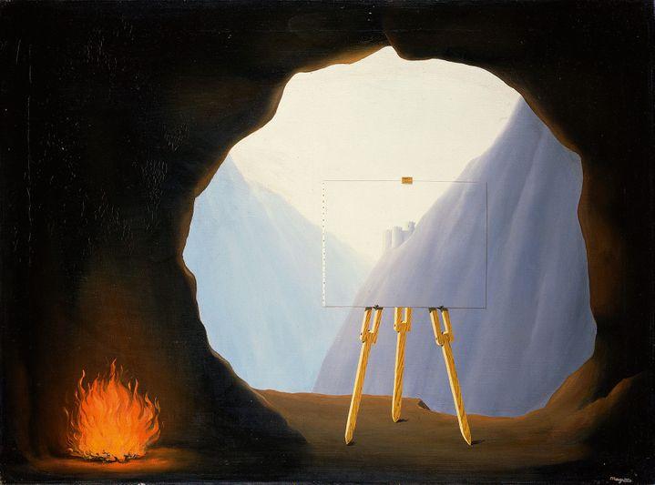 """René Magritte, """"La Condition humaine"""", 1935, Norfolk Museums Service  (Adagp, Paris 2016)"""