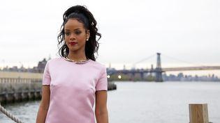 Rihanna au défilé Dior Cruse 2015, en mai 2014, aux USA  (JP YIM / GETTY IMAGES NORTH AMERICA / AFP)