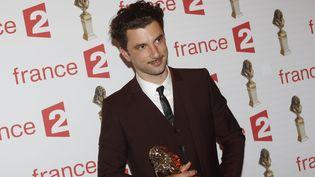28e Nuit des Molières, Alexis Moncorgé remporte le Molière de la révélation masculine de l'année, le 24/05/2016  (Olivier Corsan / PHOTOPQR/LE PARISIEN/MAXPPP)
