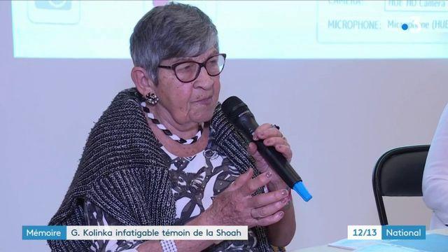 Mémoire de la Shoah : Ginette Kolinka, rescapée d'Auschwitz, raconte son histoire