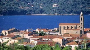 La ville de Propriano, en Corse du Sud. (STEPHANE FRANCES / AFP)
