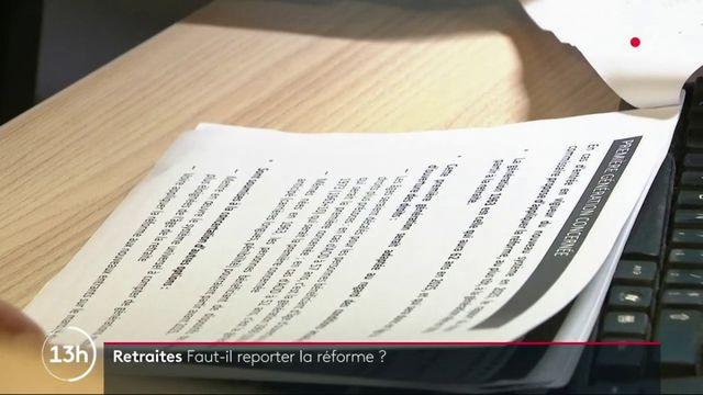 Retraites : faut-il reporter la réforme ?