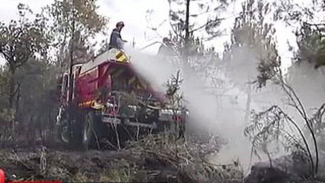 Feux de forêt en Gironde : les habitants évacués peuvent rentrer chez eux