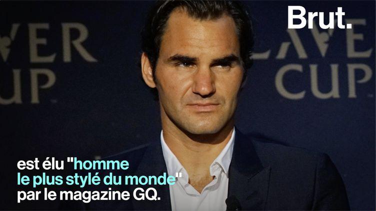 Cette année, Roger Federer signe son grand retour au Tournoi de Roland-Garros. Il est considéré comme le plus grand joueur de l'histoire du tennis. (BRUT)