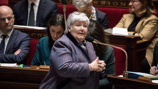 Jacqueline Gourault, lors d'une séance de questions au gouvernement, à l'Assemblée nationale, le 14 février 2018. (MAXPPP)