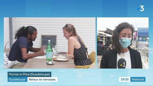 Guadeloupe : réouverture des terrasses des bars et restaurants