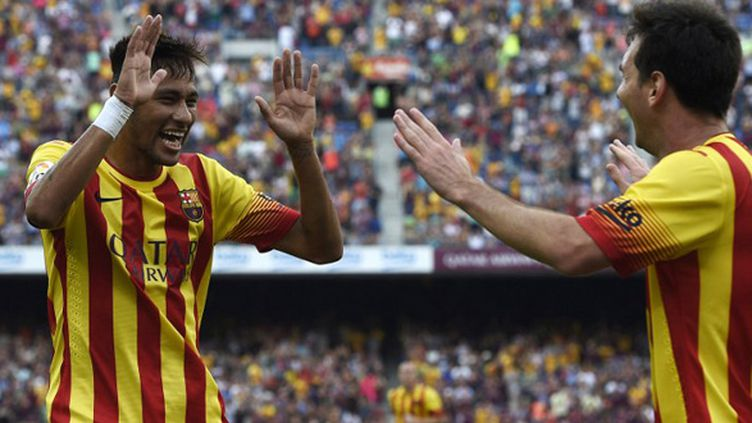 Neymar (Barcelone) (LLUIS GENE / AFP)