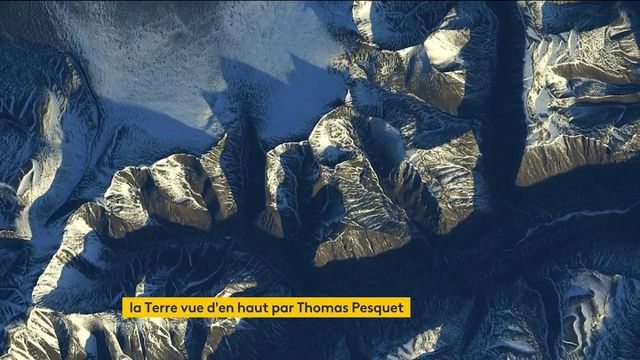 Espace : la Terre et ses maux sous l'objectif de Thomas Pesquet