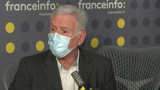 Lephilosophe Henri Peña-Ruiz, invité de franceinfo mardi 20 avril 2021. (FRANCEINFO / RADIO FRANCE)