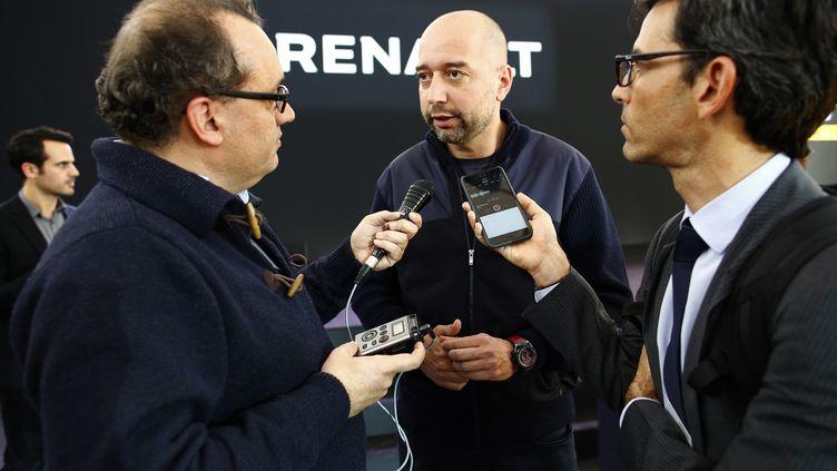 L'homme d'affaires hispano-luxembourgeois (au centre), Gérard Lopez, futur président du LOSC ? (FREDERIC LE FLOC H / DPPI MEDIA)