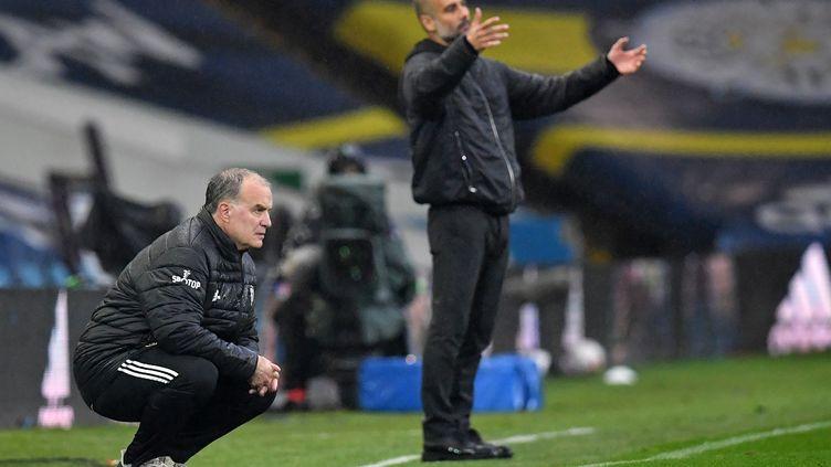 Le Leeds de Marcelo Bielsa a réussi a accrocher Pep Guardiola et son armada citizen. (PAUL ELLIS / POOL)