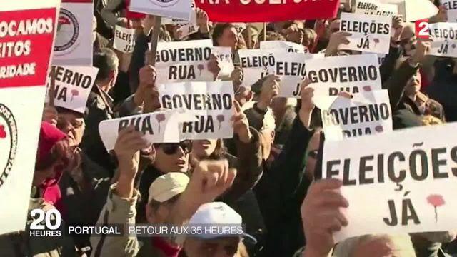 Le Portugal signe son retour aux 35 heures