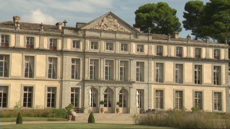 Le Château de Pennautier, dans l'Aude, est classé Monument historique. (F. Guibal / France Télévisions)