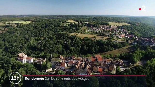 Vosges : randonnée au milieu des grès roses