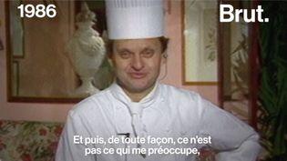 VIDEO. Quand Joël Robuchon parlait de la célébrité (BRUT)