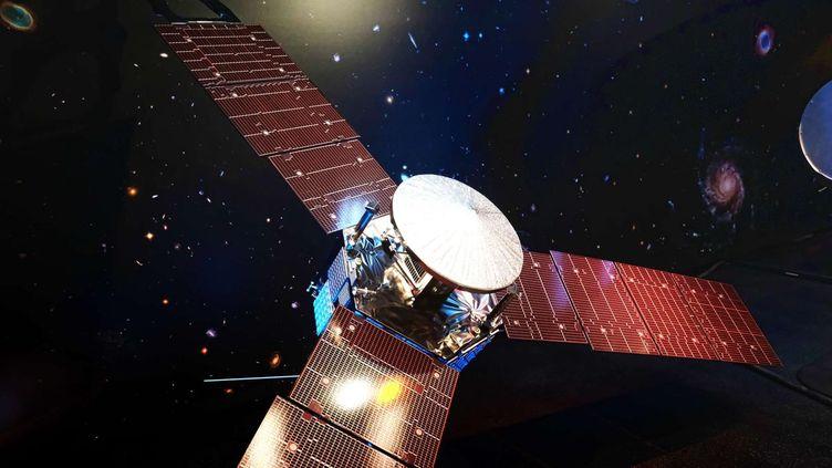 (Succès du voyage vers Jupiter pour la sonde Juno ici modélisée © SIPA/AP / Richard Vogel)